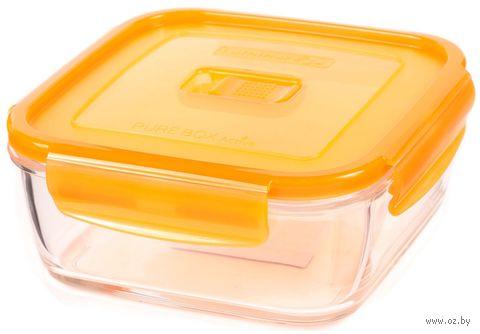 """Контейнер для еды """"Purebox Active Neon"""" (1,22 л; оранжевый) — фото, картинка"""