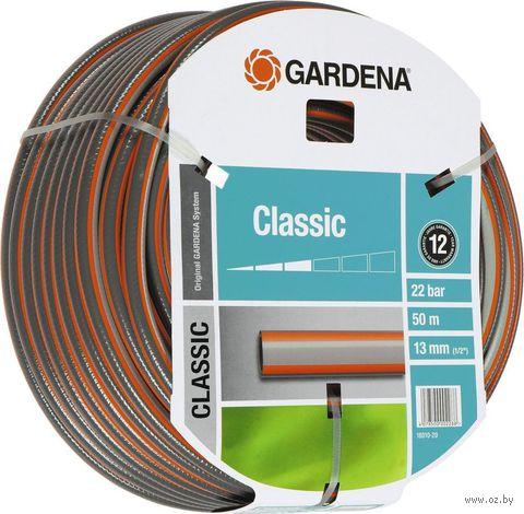 "Шланг поливочный ""Gardena Classic"" 1/2"" (13 мм х 50 м) — фото, картинка"