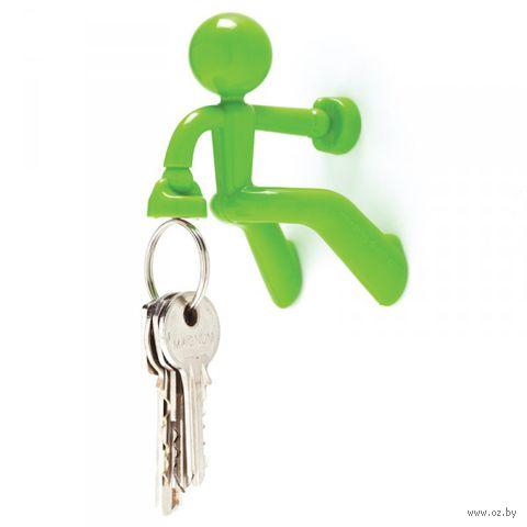 """Держатель для ключей магнитный """"Key Pete"""" (зеленый)"""