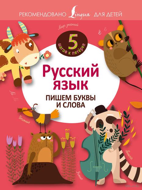Русский язык. Пишем буквы и слова — фото, картинка