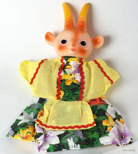 "Мягкая игрушка на руку ""Коза"" (25 см) — фото, картинка"