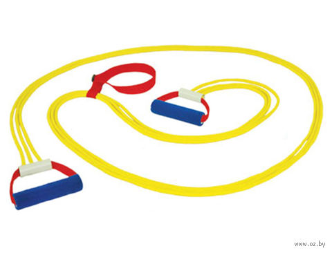 Эспандер лыжника-пловца ЭЛБ-3Р-К (взрослый; тройной) — фото, картинка
