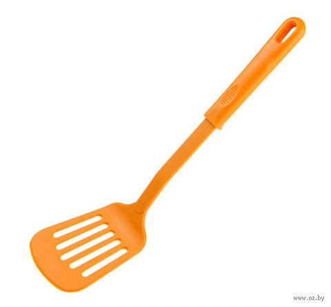 """Лопатка кухонная нейлоновая """"Yummy"""" (оранжевая) — фото, картинка"""