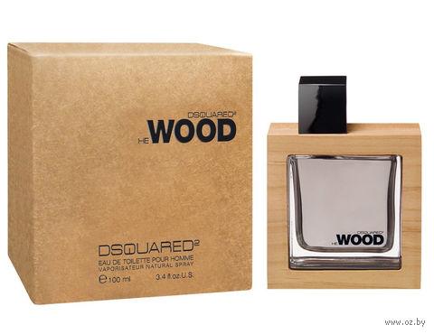 """Туалетная вода для мужчин Dsquared2 """"He Wood"""" (100 мл) — фото, картинка"""