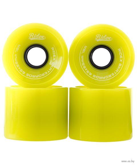 Комплект колес для лонгборда SB (4 шт.; зеленый) — фото, картинка