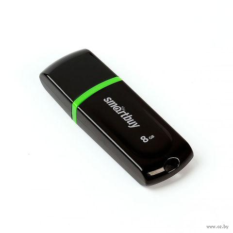 USB Flash Drive 8Gb SmartBuy Paean (Black)