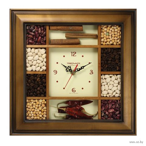Часы настенные (31,2х31,2 см; арт. 31361367) — фото, картинка