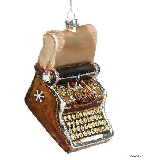 """Ёлочная игрушка """"Печатная машинка"""" — фото, картинка"""