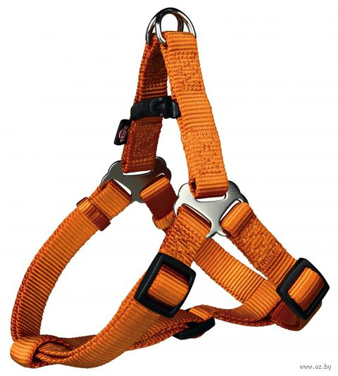 "Шлея для собак ""Premium Harness"" (размер S, 40-50 см, медно-оранжевая)"