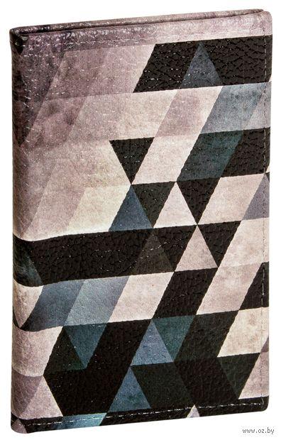 """Обложка на паспорт """"Геометрия"""" — фото, картинка"""