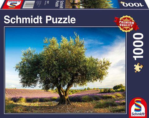 "Пазл ""Оливковое дерево. Прованс"" (1000 элементов) — фото, картинка"