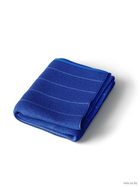Полотенце махровое (50x90 см; темно-синий) — фото, картинка