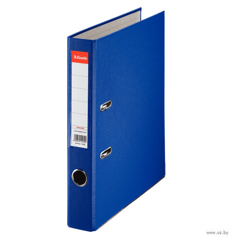 Папка-регистратор А4 с арочным механизмом 50 мм (ПВХ ЭКО, синий)