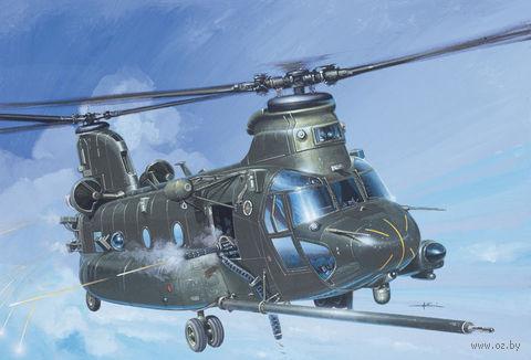 """Транспортный вертолет """"MH-47 E Soa Chinook"""" (масштаб: 1/48) — фото, картинка"""