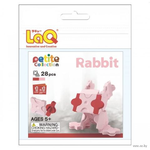 "Конструктор ""LaQ. Rabbit"" (28 деталей)"