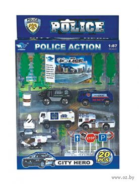"""Игровой набор """"Полиция"""" (арт. И-4673) — фото, картинка"""