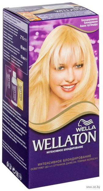 """Крем-краска для волос """"Wellaton. Блондирование"""" — фото, картинка"""