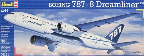 """Сборная модель """"Пассажирский самолет Boeing 787-8 Dreamliner"""" (масштаб: 1/144) — фото, картинка"""