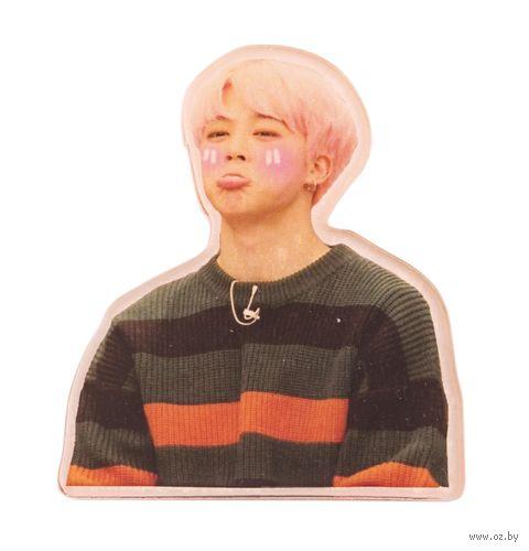 """Наклейка акриловая """"BTS. Jimin"""" (арт. 534) — фото, картинка"""