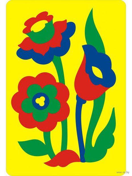 """Рамка-вкладыш """"Цветы"""""""