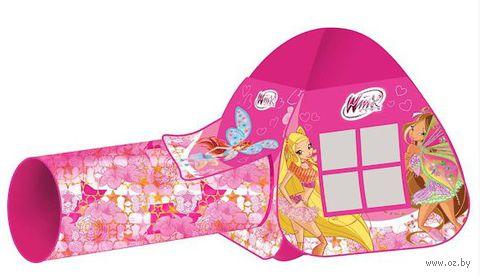 """Детская игровая палатка """"Winx"""" (с тоннелем, в сумке; арт. GFA-0672-R)"""