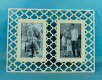Фоторамка деревянная на 2 фотографии (10х15 см) — фото, картинка