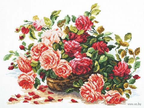 """Вышивка крестом """"Королевские розы"""""""