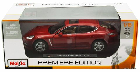 "Модель машины ""Porsche Panamera Turbo"" (масштаб: 1/18) — фото, картинка"