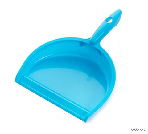 """Совок для мусора пластмассовый """"Smart"""" (голубая лагуна) — фото, картинка"""