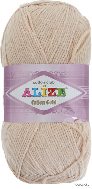 "Пряжа ""ALIZE. Cotton Gold №97"" (100 г; 330 м) — фото, картинка"