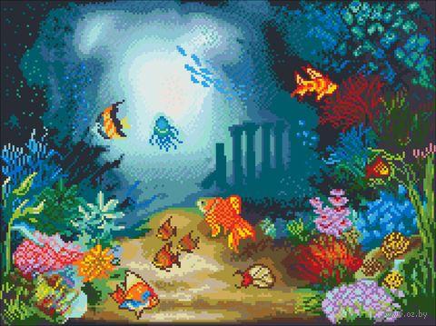 """Вышивка крестом """"Подводный мир"""" (280х380 мм) — фото, картинка"""