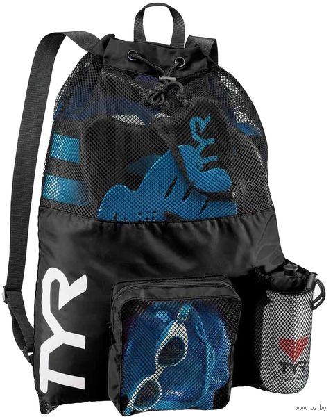 """Рюкзак """"Big Mesh Mummy Backpack"""" (чёрный) — фото, картинка"""