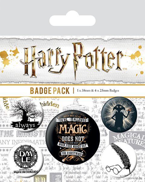 "Набор значков ""Harry Potter. Symbols"" — фото, картинка"