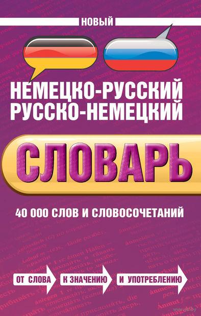Новый немецко-русский, русско-немецкий словарь. 40 000 слов и словосочетаний. В. Байков, И. Беме