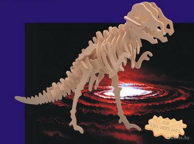 """Сборная деревянная модель """"Тираннозавр"""" — фото, картинка"""