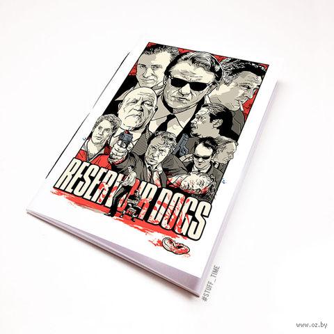"Блокнот белый ""Reservoir Dogs"" А6 (132)"