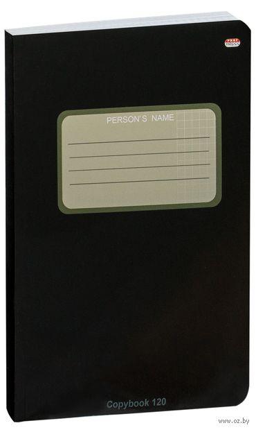 """Тетрадь общая в клетку """"Copybook"""" (В5; 120 листов; черная) — фото, картинка"""