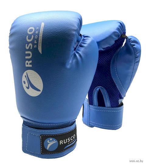 Перчатки боксёрские (8 унций; синие) — фото, картинка