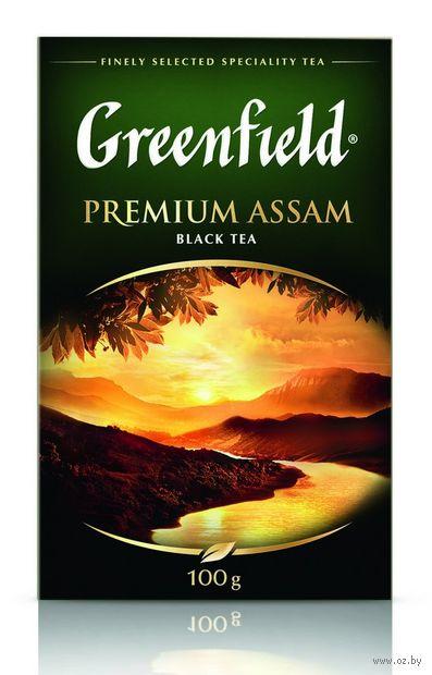 """Чай черный листовой """"Greenfield. Premium Assam"""" (100 г) — фото, картинка"""