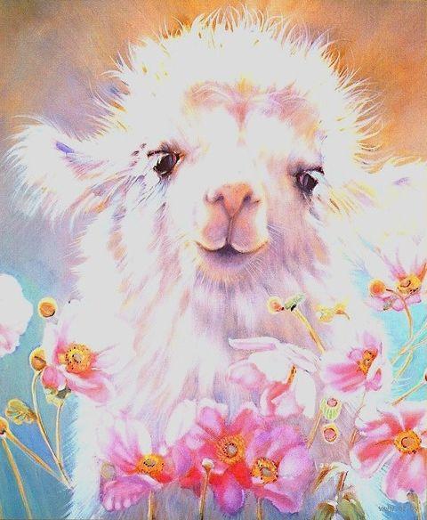 "Алмазная вышивка-мозаика ""Милый верблюжонок"" (400х400 мм) — фото, картинка"