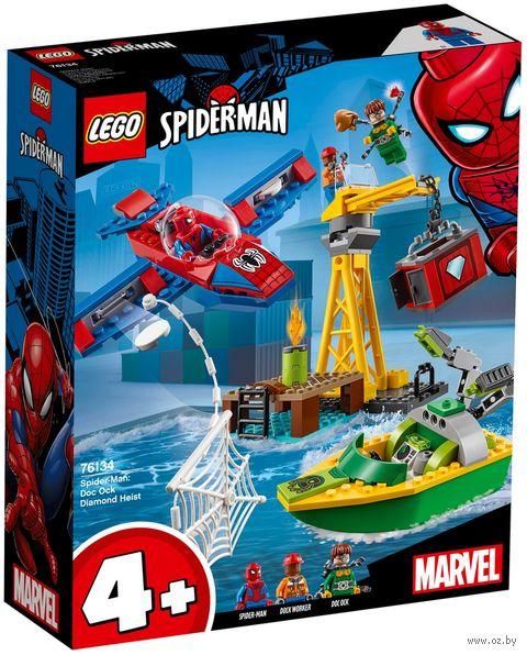 """LEGO Super Heroes """"Человек-паук: похищение бриллиантов Доктором Осьминогом"""" — фото, картинка"""
