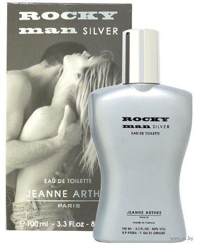 "Туалетная вода для мужчин ""Rocky Man silver"" (100 мл)"