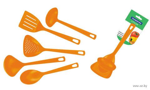 Набор кухонных принадлежностей пластмассовых термостойких (5 предметов, арт. 25099404)