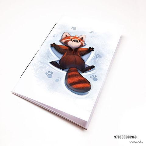"""Блокнот """"Красная панда"""" (А7; арт. 968)"""