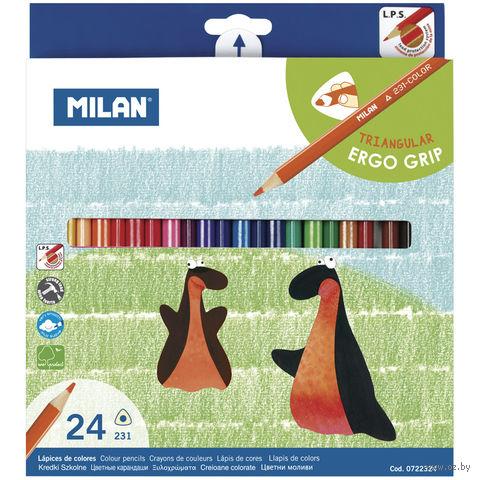 "Цветные карандаши ""231"" (24 цвета; арт. 722324)"