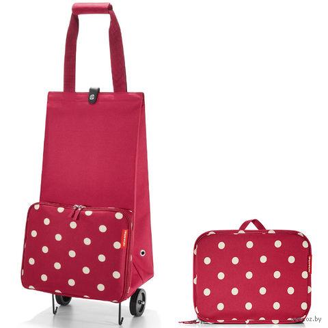 """Сумка на колесиках """"Foldabletrolley"""" (ruby dots)"""