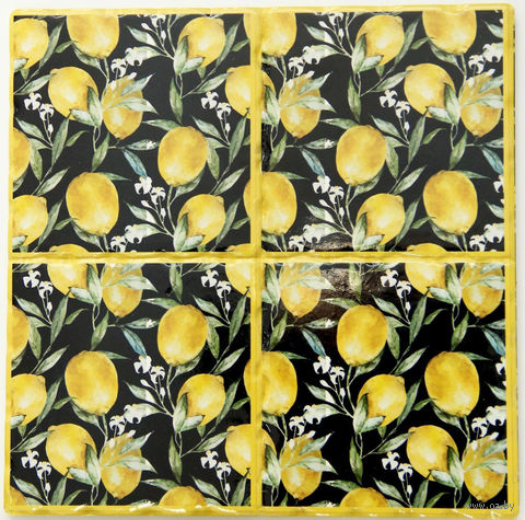 """Подставка под горячее """"Лимоны"""" (арт. 41001/1) — фото, картинка"""