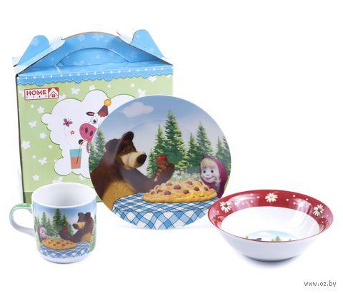 Набор для завтрака (3 предмета; арт. LX-3PCS-C201N) — фото, картинка