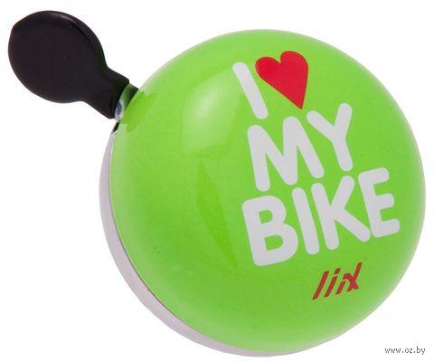 "Звонок для велосипеда ""I Love My Bike"" — фото, картинка"