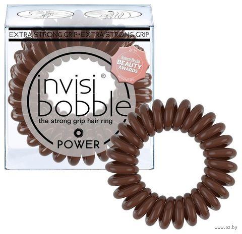 """Набор резинок-браслетов для волос """"Power Pretzel Brown"""" (3 шт.; арт. 3068) — фото, картинка"""